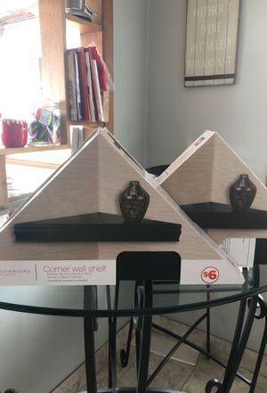 3 Corner wall shelves for Sale in Schiller Park, IL