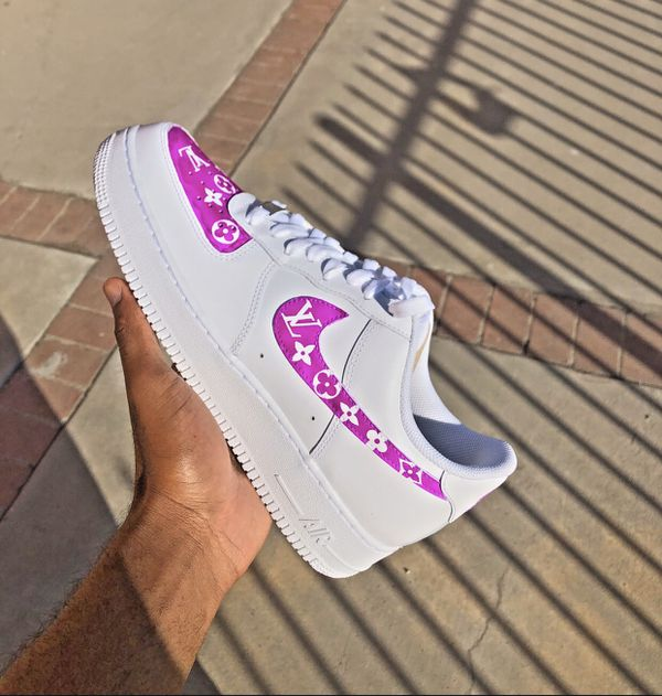 Nike Air Force 1's Customs for $200.