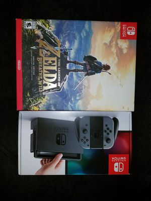 Nintendo Switch / The Legend of Zelda Breath of the wild special edition for Sale in Somerville, MA