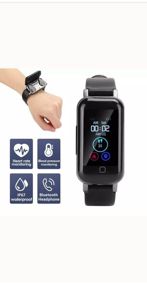 SMART BLUETOOTH HEADPHONE FITNESS WATCH 50%OFF for Sale in Summerville, SC