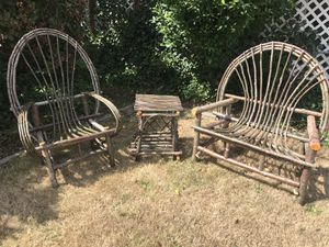 Twig furniture by Scott g for Sale in BETHEL, WA