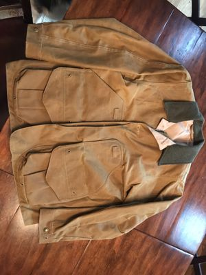 Never worn!! Filson Tin Cloth Field Jacket in new condition for Sale in Sammamish, WA