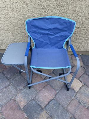 Foldable chair with side table for kids/toddlers for Sale in Henderson, NV
