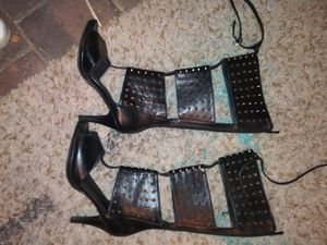 Leather and spiked heels for Sale in Bartow, FL