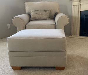 Macy's Chair and Ottoman for Sale in Danville, CA