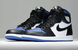 Nike Air Jordan 1 Retro High OG Men's Shoes Game Royal Toe 555088-041 sz 13 for Sale in Cleveland, OH