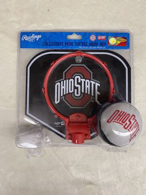 NEW Ohio State Mini Basketball Hoop and Ball! for Sale in Plymouth, OH