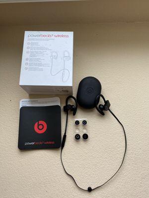 Powerbeats 3 wireless headphones for Sale in Chino, CA