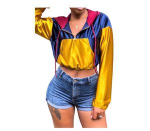 Satin Cropped Hoodie Jacket for Sale in Hampton, GA