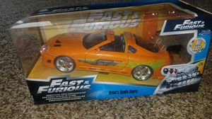 The Fast and the Furious Brian's Toyota Supra Toy Car New for Sale in Livingston, CA