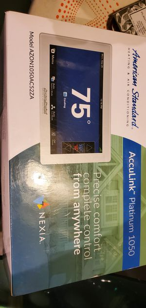 American standard Acculink platinum 1050 smart thermostat for Sale in Tacoma, WA