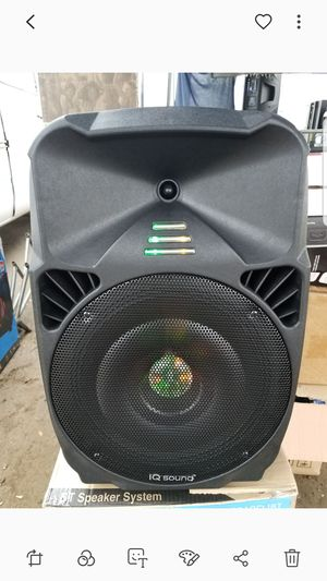 IQ sound 12 in speaker for Sale in Norwalk, CA