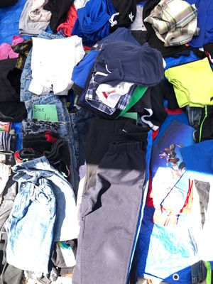Size 7 boys clothes pile for Sale in Albuquerque, NM