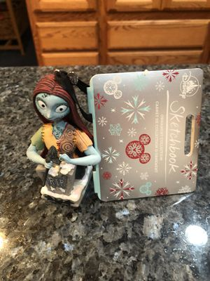 Collectible Disney Sketchbook Ornament Collection Nightmare Before Christmas Sally. Brand new perfect condition for Sale in Artesia, CA