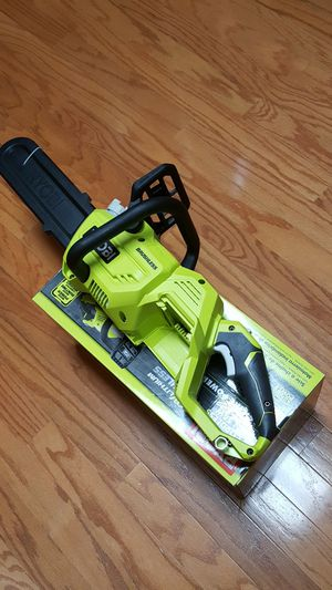 Ryobi 40V chainsaw for Sale in Temple, TX