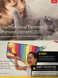 Adobe Photoshop 2020 For Student/Teacher 'ONLY' for Sale in Fresno,  CA