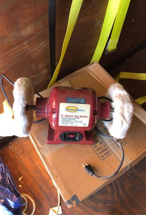 Northern industrial bench Top buffer. New. 3/4 HP motor for Sale in Kirkland, WA
