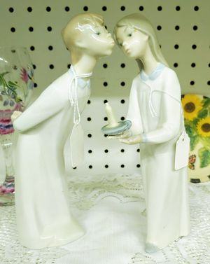 Lladro Boy & Girl Figurines for Sale in Brunswick, OH