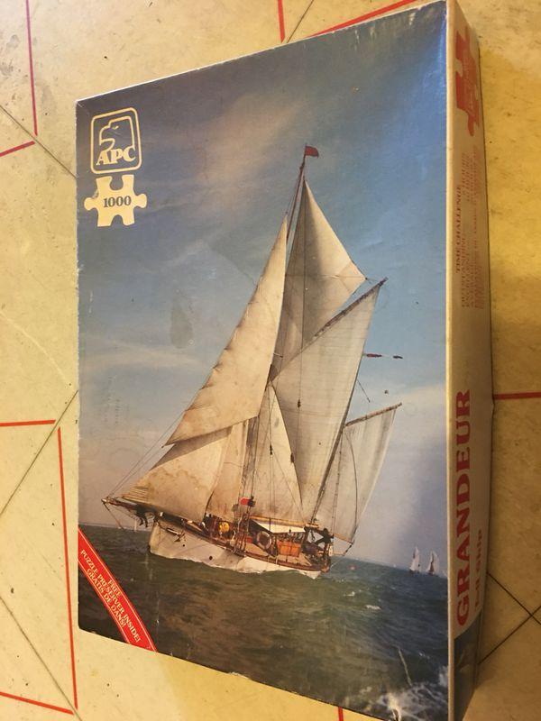 Grandeur Tall Ship 1000 piece puzzle Apc