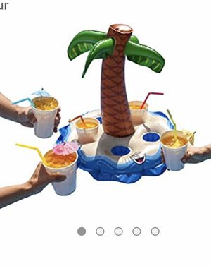Big mouth inflatable palm tree boat drink for Sale in Los Angeles, CA