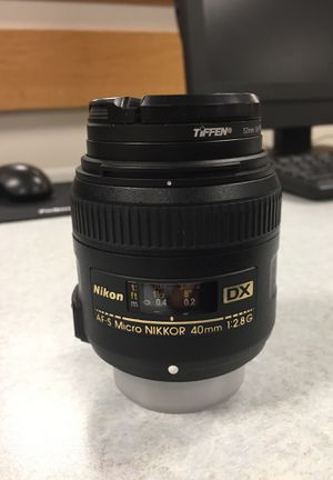 Nikon Camera Lens Micro lens DX 40mm 1:2.8 G for Sale in Washington, DC