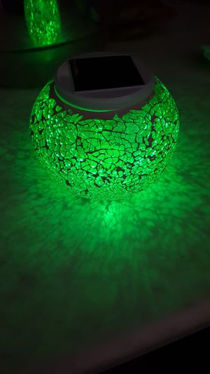 Solar color changing night lamp for Sale in Waukegan, IL