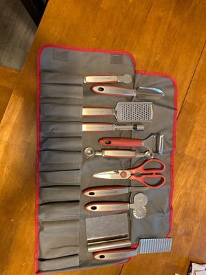 Wolfgang Puck kitchen utensil set for Sale in Newberg, OR