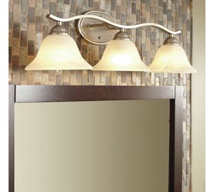 HAMPTON BAY ANDENNE 3 LIGHT VANITY FIXTURE for Sale in Addison, TX