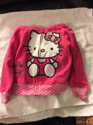 Hello Kitty Baby Size Large Pink Hooded Full Zip Jacket for Sale in Honolulu, HI