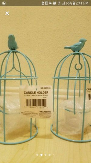 For Sale - Bird Inspired Candle Holder Set for Sale in Los Angeles, CA