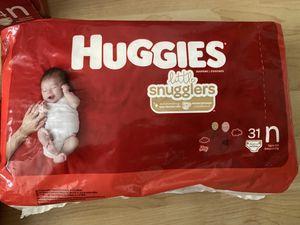 Huggies little snuglers Newborn for Sale in Huntington Beach, CA