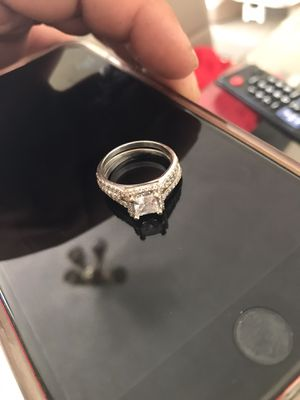 White gold 14 ct ring for Sale in Moreno Valley, CA