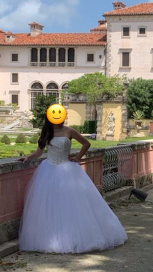 Quinceanera/Wedding Dress from David's Bridal for Sale in Pembroke Pines, FL