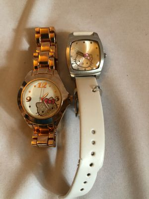 2 Hello Kitty watches for Sale in Chino, CA