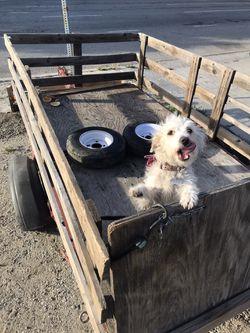 Utility Trailer open to trade for Canoe for Sale in Santa Clarita,  CA
