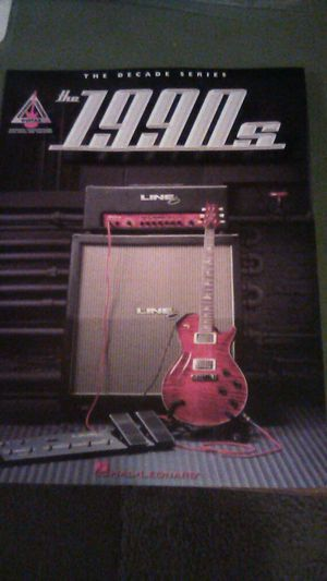The 1990s, Tablature, words to songs from the 90s, 222 pages, Nirvana - Smells Like Teen Spirit, Oasis, Aerosmith, more for Sale in Groveport, OH