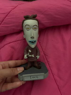 Nightmare before Christmas Lock bobble head for Sale in Houston, TX
