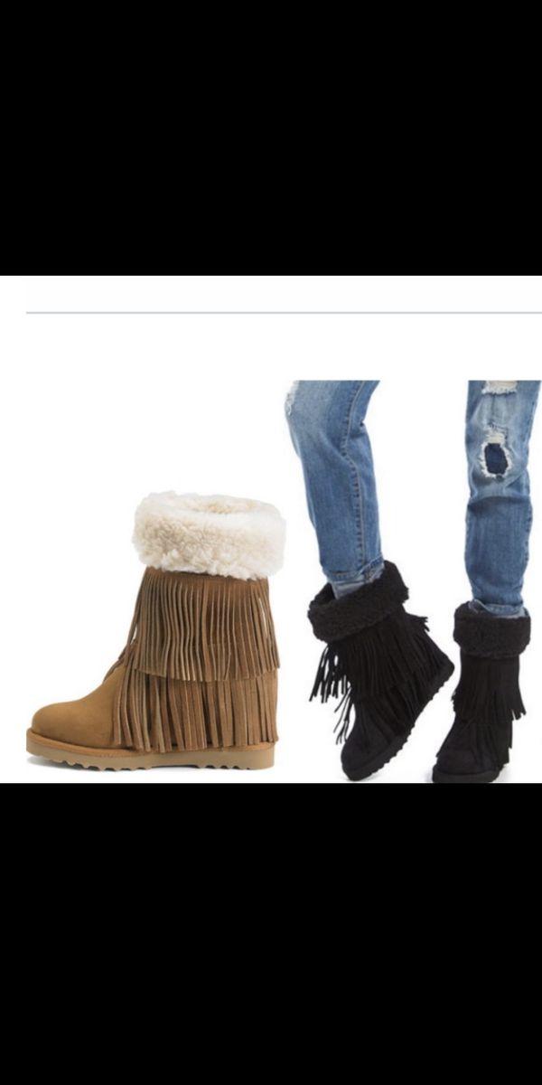 Women wedge boots