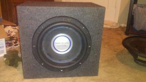 "2500 watt Planet acoustic Gothic 12"" subwoofer for Sale in Kingsland, AR"