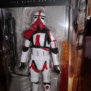 Star Wars Black Series Incinerator Trooper Collectible Action Figure for Sale in Cicero, IL