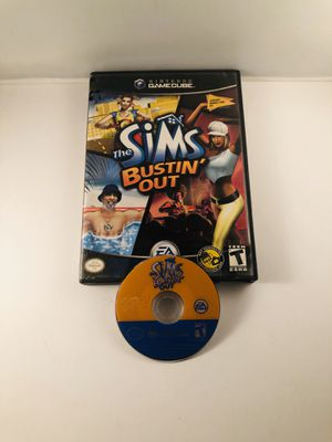 Sims bustin out nintendo GameCube for Sale in Long Beach, CA