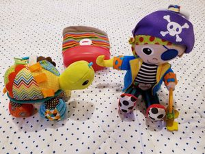 Baby boy toys and stroller toy catch all for Sale in Olympia, WA