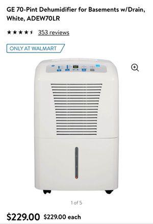 GE dehumidifier for Sale in Hershey, PA