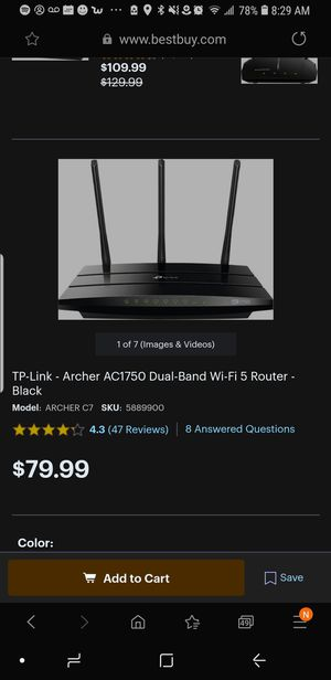 Tp link router for Sale in Yonkers, NY