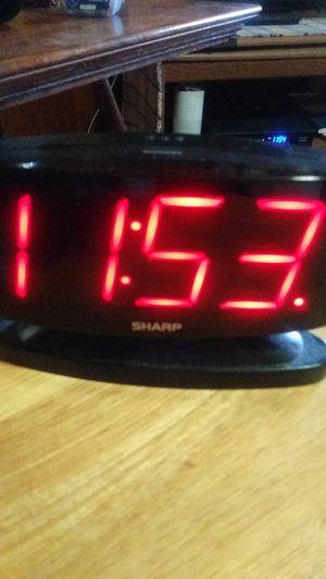 Sharp Alarm Clock for Sale in Portsmouth, VA