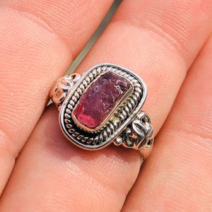 Pink Tourmaline Rough 925 Ring Size 6 for Sale in San Francisco, CA