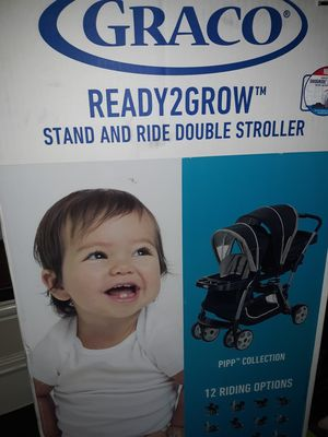 Graco® Ready2Grow Click Connect Double Stroller - Pipp for Sale in Lucas, TX