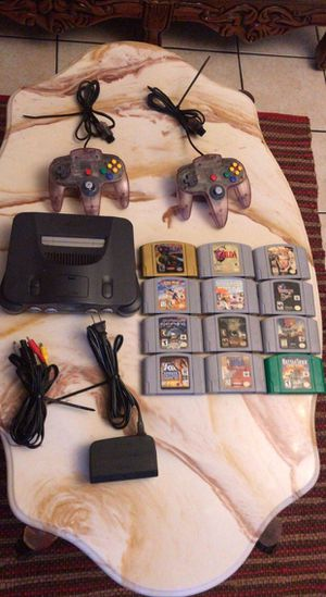 Nintendo 64 complete with games for Sale in East Los Angeles, CA