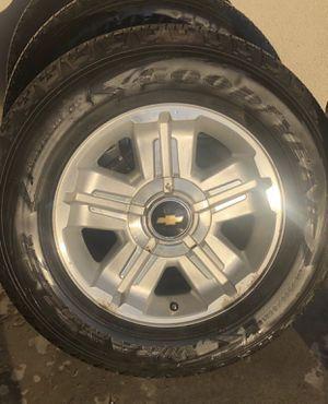 "Chevy Silverado 18"" stocks Goodyear for Sale in Dinuba, CA"