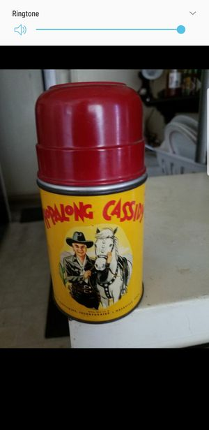 Vintage hopalong Cassidy lunch Box thermos for Sale in West Covina, CA